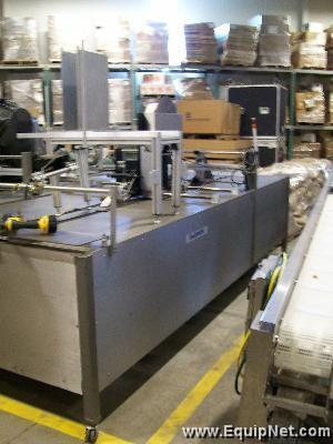 Unused Dalemark Flat Case Labeler with Sato Printer