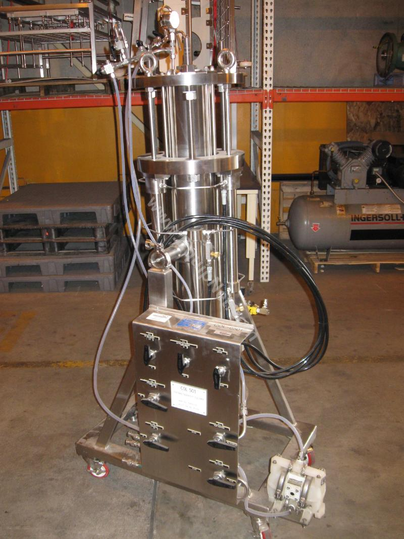 Mann Welding Stainless Steel Chromatography Column