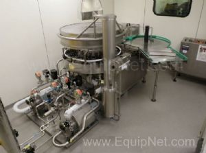 Calumatic CRW Semi Automatic Rotary Vial Washer