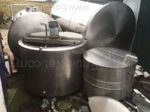 Stainless Steel Jacketed 4500 Liter Tank
