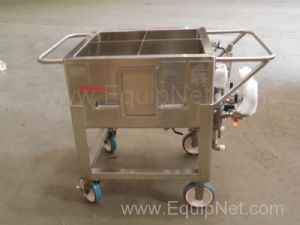 Unused Thermo Scientific 4X30 Liter Stainless Steel Jacketed Single Use Bioprocess Bag Holder