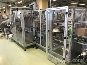 OLI 210 and Olimat 1-400 Cartoner And Case Erector