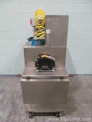 Watson Marlow Cart Mounted Peristaltic Pump With Integrated Explosion Proof Purge System