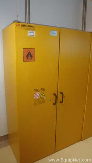 Lot of 3 Duperthal FWF90 Chemical Storage Cabinets