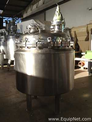PRAMINOX 300 L  Jacketed Tank