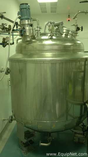Walter Stocklin 1000 Liters Jacketed Tank