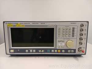 Equipo para verificación de señal Rohde and Schwarz SMIQ 03B