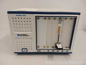 National Instruments NI PXIe-1073 Chasis With NI PXI-6552 100 MHz Digital IO