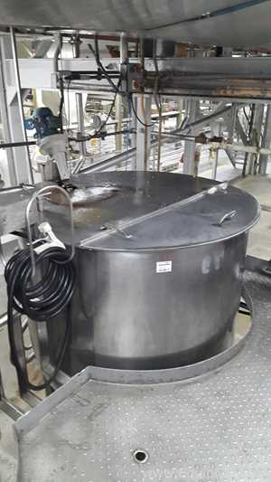 Groen Stainless Steel Syrup Preparation Skid with Stainless Steel Tanks
