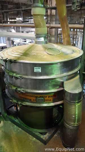 Mineralmaq PVS120 I-2 Industrial Stainless Steel Vibratory Sieve