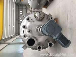 Unused 12.500 lt 3.300 gal SS Chemical reactor