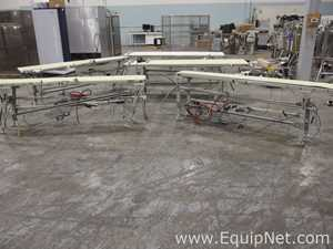 Lot Of Miscellaneous Belt Conveyors