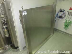 Platform Scale With Wall Mounted Controller