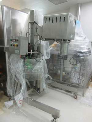PRG Post Mounted Adjustable Height Mixer for Spray Solutions