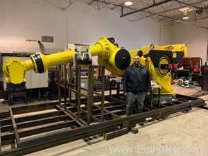 Fanuc M2000iA.900L Robot 2017 only 200 hours