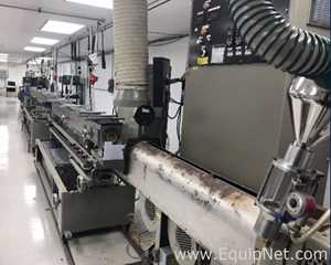 Davis Standard DS-20  Extrusion Line with ConAir Ancillary Equipment