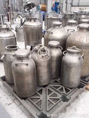 Stainless Steel 30 Liter Storage Vessel