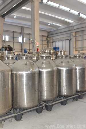 Stainless Steel 150 Liters Tank