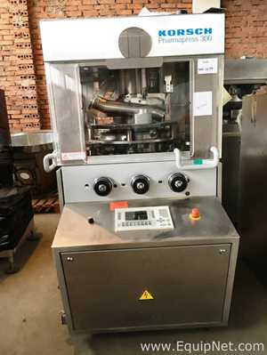 Compressora de Comprimidos Korsch PH300/43