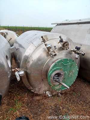 Reeno Jacketed Stainless Steel 2950 Liter Tank