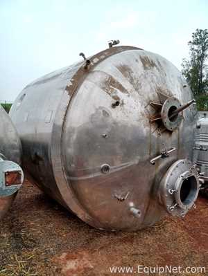 Jacketed Stainless Steel 20000 Liter Tank
