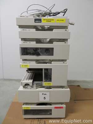 Hewlett Packard 1100 Series HPLC System with DAD Detector