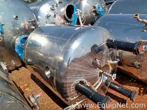 Jacketed Stainless Steel 1750 Liter Tank