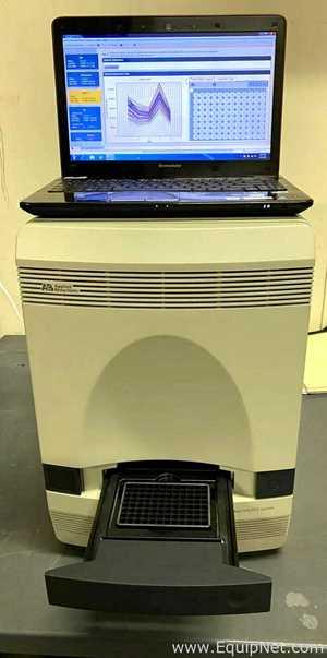 PCR y Termociclador Applied Biosystems 7500 Fast System