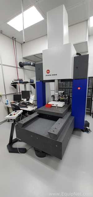 Lote de 2 Máquina para coordinación y medición Leitz Wetzlar Germany PMM 866