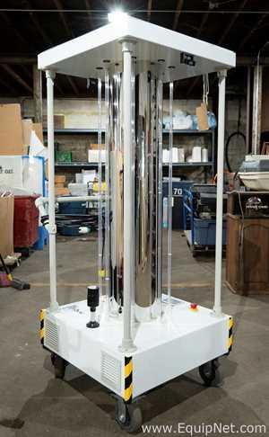Energenics Corporation  UV-MAX Aura Mobile UV-C Disinfection Unit