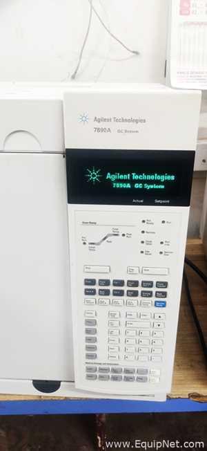 Agilent Technologies 7890A Gas Chromatograph