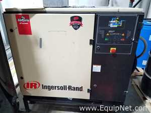 Ingersoll Rand SSR UP6 20 125 Screw Air Compressor With Storage Tank