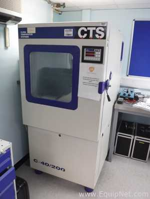 Clima Temperatur Systeme C-40/200 Climate Test Chamber