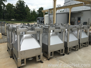 GEA 500 Liter Sanitary Stainless Steel Transportable IBC Totes