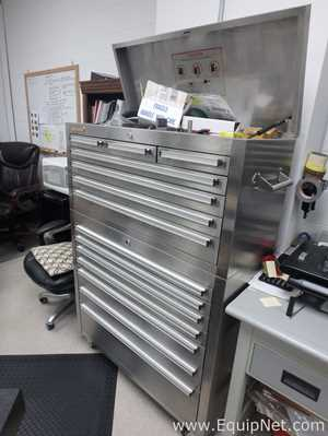 Steel Glide Stainless Steel Upright Tool Box