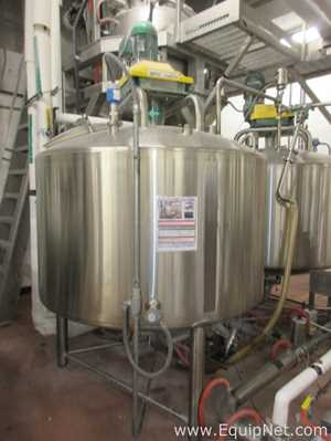 Walker Stainless Equipment Company, Inc. 450 Gallon 316L Stainless Steel Processor