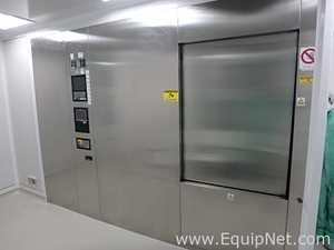 Fedegari FOF/5 Stainless Steel Double Door Horizontal Saturated Steam Autoclave
