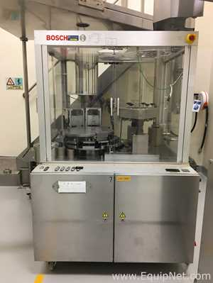 Bosch GKF 1500 Automatic Capsule Filling Machine with Bohle HS 200 Lift/Turing Column