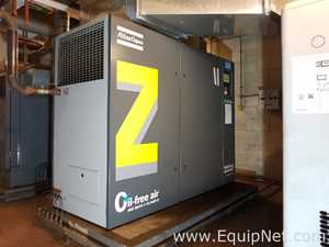 ATLAS COPCO ZT55VSD Rotary Screw Oil Free Air Compressor