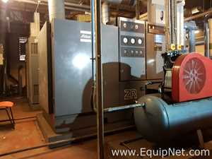 ATLAS COPCO ZR3B Rotary Screw Oil Free Air Compressor