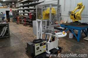 Fanuc Corporation Fanuc M-1iA/0.5A 7 Axis Delta Robot Cell w/ Indexing Table R-30iB Robotic
