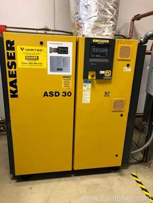 Kaeser ASD 30 Rotary Screw Compressor with KAD165 Regenerative Desiccant Dryer
