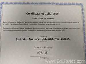 Vankel VK 7010 Dissolution System - ASTM/ USP compliant 1-year warranty