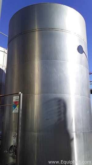 Stainless Steel Reservoir 75000 L Tank