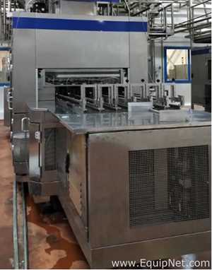 SIG Combibloc CFA124 Beverage Filling Line and complete downstream