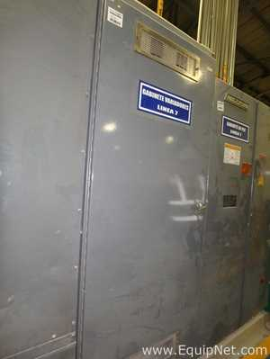 Electrical Cabinet with 5 Allen Bradley PowerFlex Frequency Inverters Different Capacities