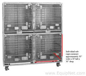 Allentown Caging Equipment Co Inc. Well being cages Animal Cage - NHP Caging