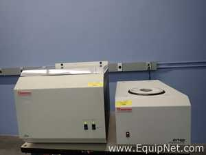 Thermo Electron Corporation RVT400-115 Speed vac Concentrator With RVT400 Refrigerated Vapor Trap