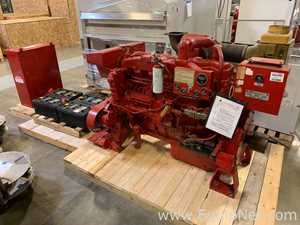 Caterpillar 3406B-DI 375 HP Diesel Engine with Firetrol FTA1100-JL24N Fire Pump Controller