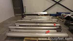 SIM WA BA 4 Inch Augers Stainless Steel Construction 14 Sections Unused